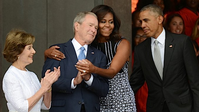 George W. Bush is Not Your Cuddly Grandpa