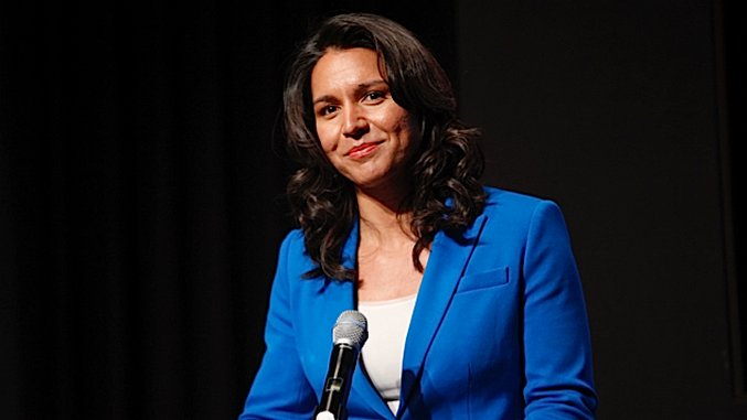 "Tulsi Gabbard: Donald Trump is Saudi Arabia's ""B****"""