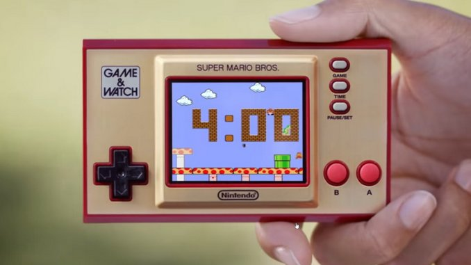 Nintendo Gives a Closer Look at the Tiny Game & Watch: Super Mario Bros in New Trailer