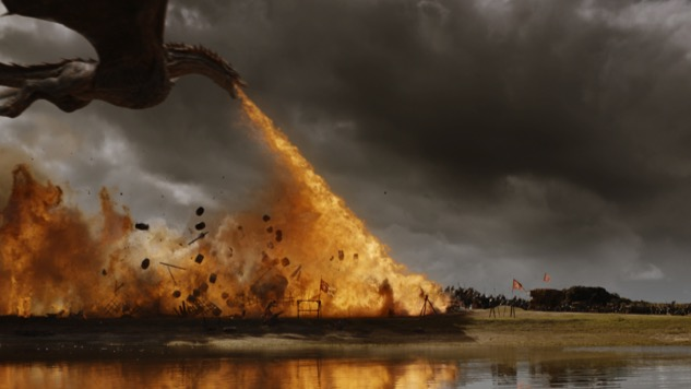 Last Night's <i>Game of Thrones</i> Set a Record-Breaking 73 Stuntmen on Fire