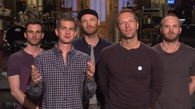 <i>Saturday Night Live</i> Review: &#8220;Andrew Garfield/Coldplay&#8221;