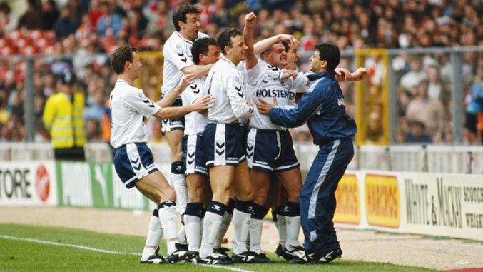 Throwback Thursday: Tottenham v Arsenal, FA Cup Semifinal (April 14th, 1991)