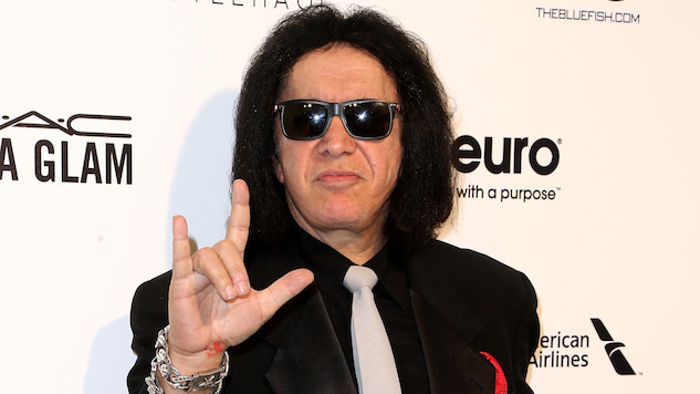 Gene Simmons is trying to trademark the 'rock on' hand gesture