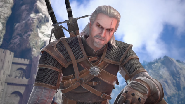 <i>The Witcher</i>'s Geralt of Rivia Confirmed for <i>Soulcalibur VI</i>