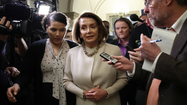 Nancy Pelosi's Approval Rating Doubles in Wake of Government Shutdown