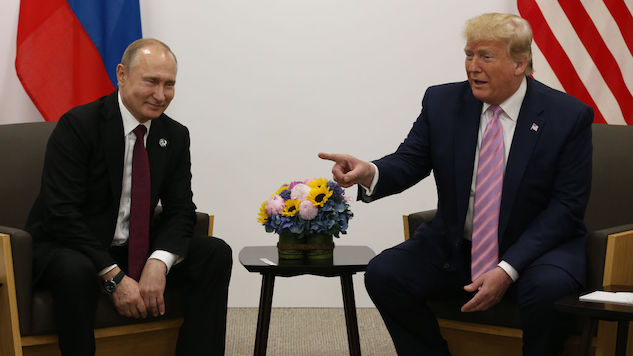 """Get Rid of Them"": Trump and Putin Share Notes on Hating Journalists"