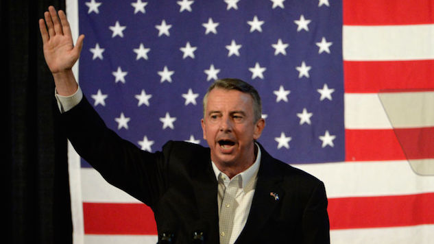 Reporter Violently Arrested While Filming Ed Gillespie's Campaign Vehicle