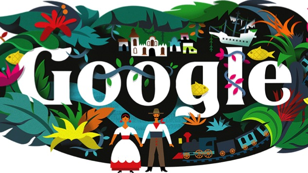 Google Honors Gabriel Garcia Marquez With Colorful Daily Doodle