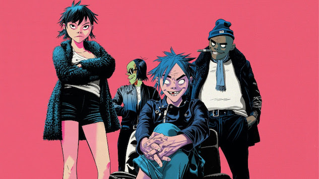 "Gorillaz Share ""Fire Flies,"" Another New Track from Forthcoming Album"