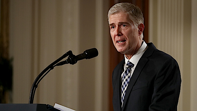 Appointing Neil Gorsuch in Our Age of Disappointment