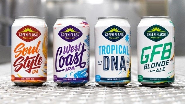 Green Flash Brewing Has Launched its Rebrand, With the Original Recipe for West Coast IPA