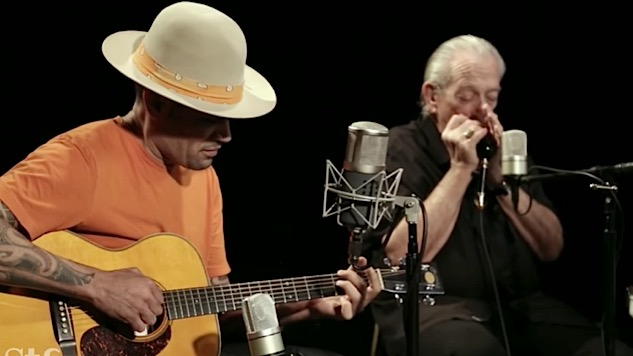 Watch Ben Harper and Charlie Musselwhite Perform New Songs at Paste Studio