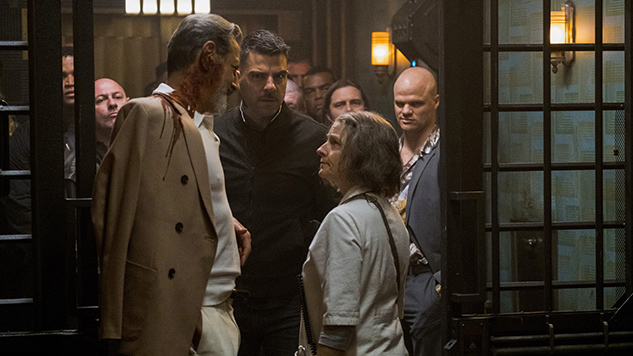 See What Happens When Medical Care and Crime Collide in First <i>Hotel Artemis</i> Trailer