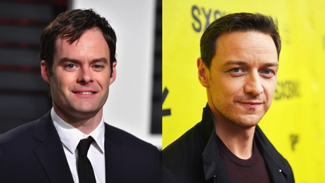 Bill Hader James Mcavoy In Talks To Join The Losers Club In It