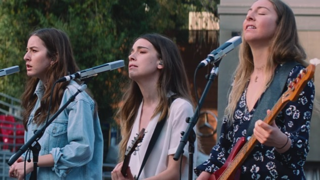 "Watch Haim's Paul Thomas Anderson-Directed Live Video for ""Night So Long"""