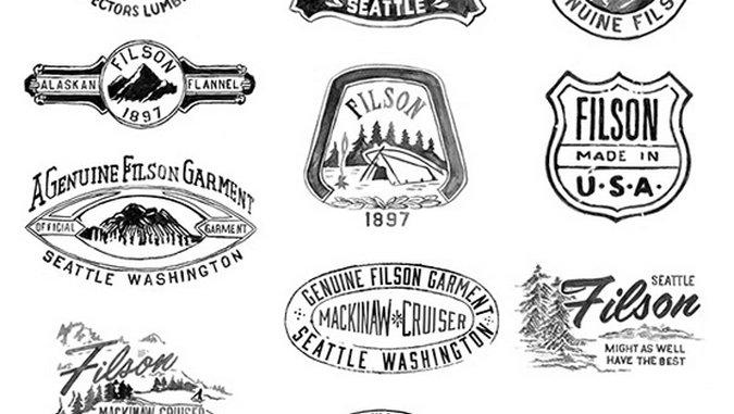 Designer Crush: Hand-painted Logo King Glenn Wolk