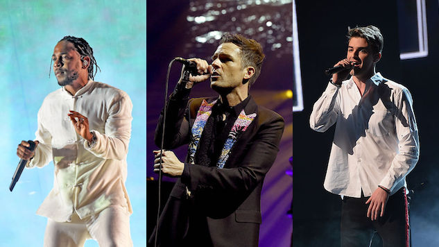 Killers, Chainsmokers, Kendrick Lamar top 2018 Hangout lineup