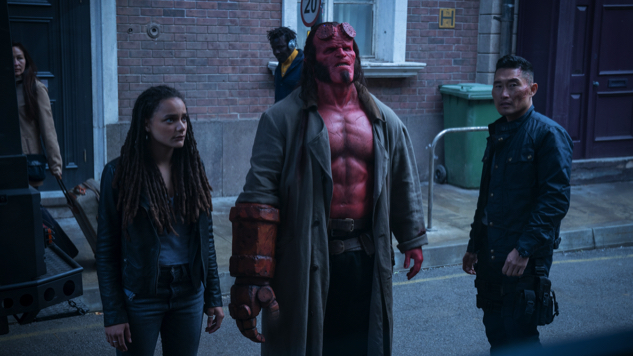David Harbour Smashes Things Real Good in the <i>Hellboy</i> Trailer