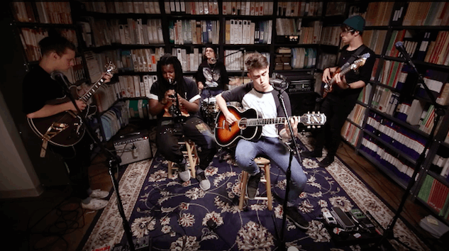 Paste Sessions: Hippo Campus Get Silly and Soulful