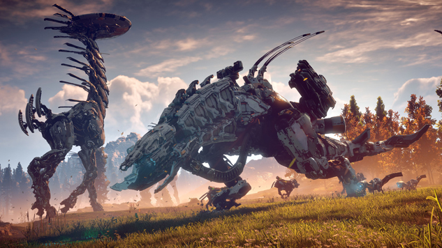 Ranking the Robot Dinosaurs of <i>Horizon Zero Dawn</i>