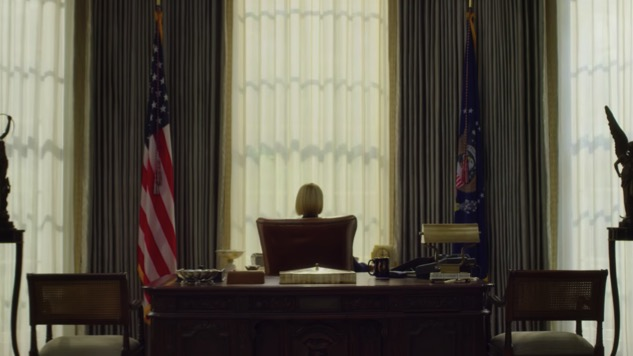 Hail to the Chief in the First Teaser for the Final Season of <i>House of Cards</i>