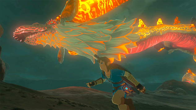 How To Find Dinraal, Farosh, and Naydra in <i>Breath of the Wild</i>—And Farm Them For Parts