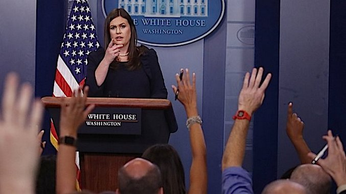 White House Press Secretary Calls for ESPN Anchor to be Fired For Exercising Free Speech