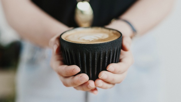 This Coffee Cup is Made of Actual Coffee