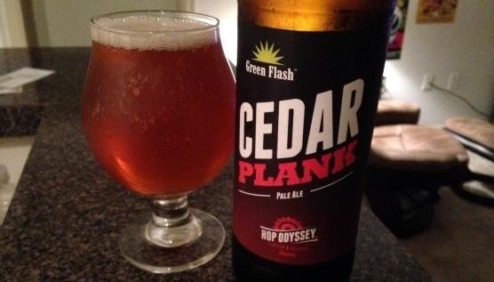 Green Flash Cedar Plank Pale Ale