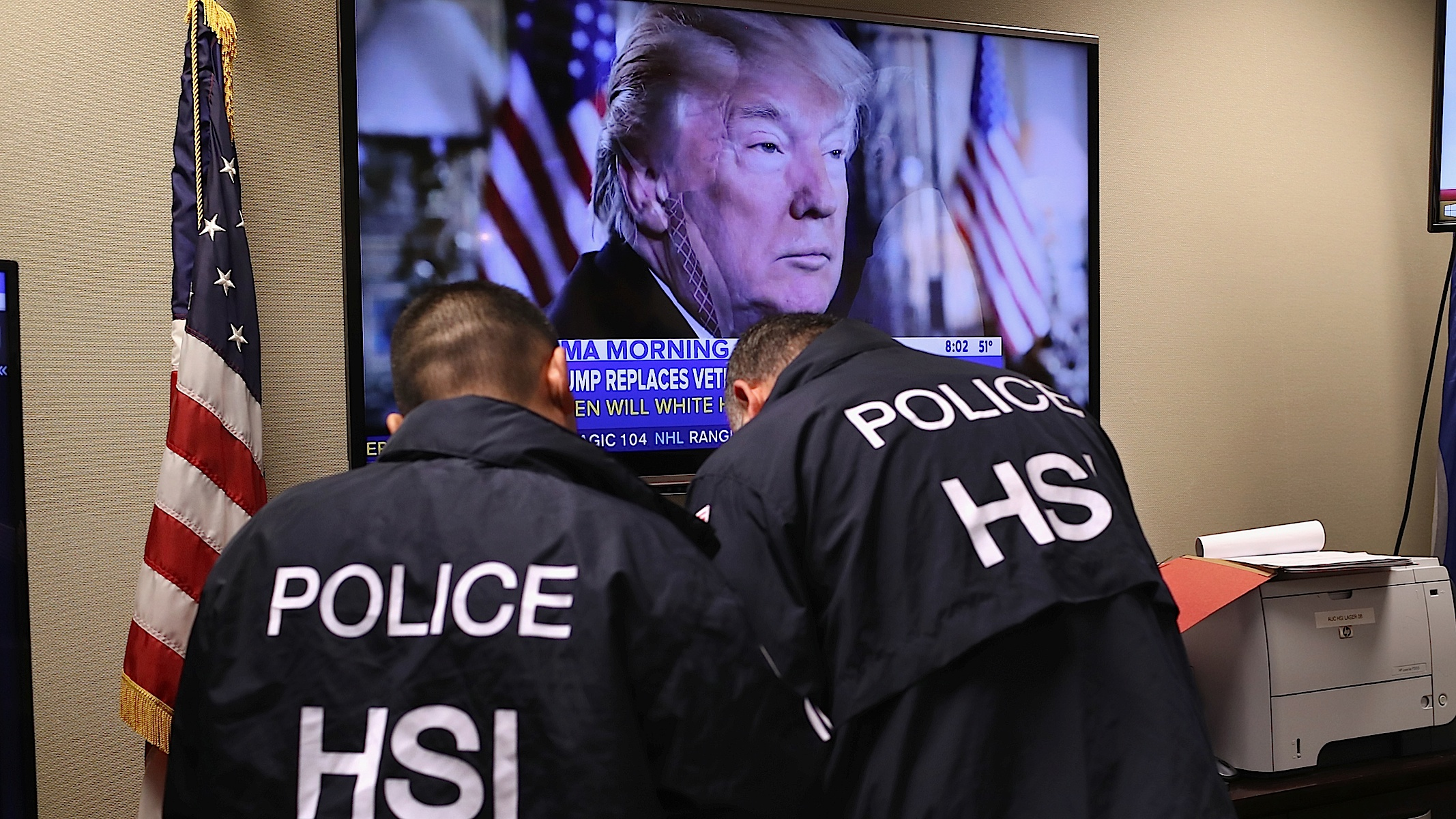 The ICE Raids Are Donald Trump's Saddest, Most Transparent Failure