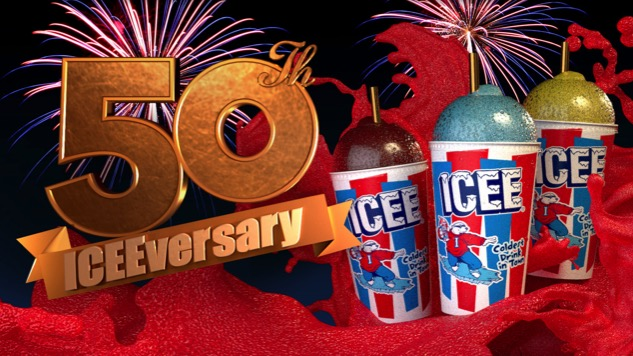 ICEE Turns 50, Celebrates With New Flavors & Golden Spoonstraws