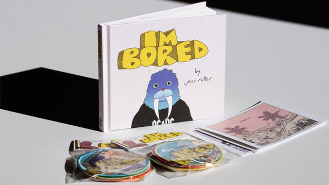Illustrator Jess Rotter's Debut Book Seeks Solace and Smiles in Boredom