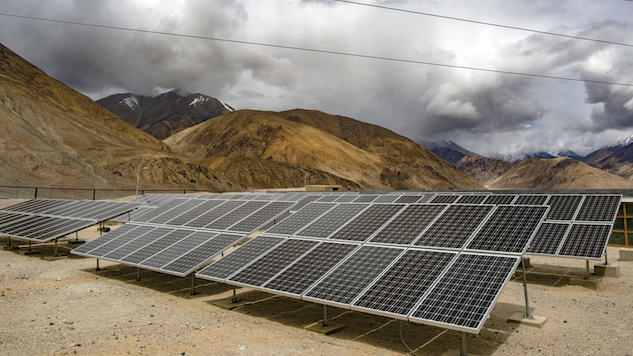 India Investing More in Solar Power Than Coal for First Time
