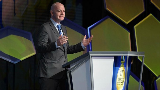 "Gianni Infantino Calls Criticism Of FIFA ""Fake News"""