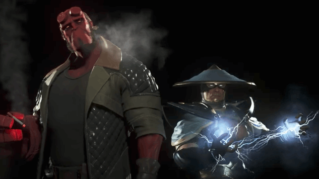 Hellboy and Raiden Will Be Added to <i>Injustice 2</i>