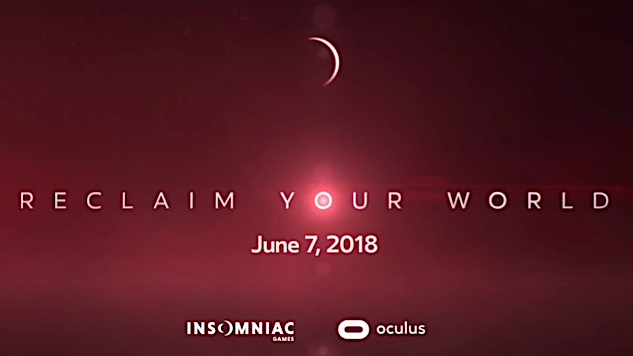 Insomniac Games Teases New VR Project