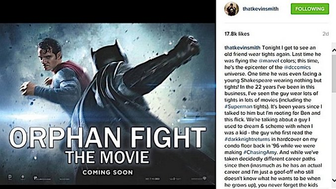 Instagram-ification: A Week at the Movies (03/25/16)