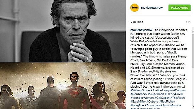 Instagram-ification: A Week at the Movies (04/22/16)