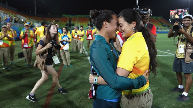These LGBT Athletes Made History at the Rio Olympics