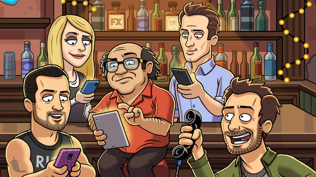 The Gang Get Their Game on in New <i>It's Always Sunny in Philadelphia</i> Mobile Game