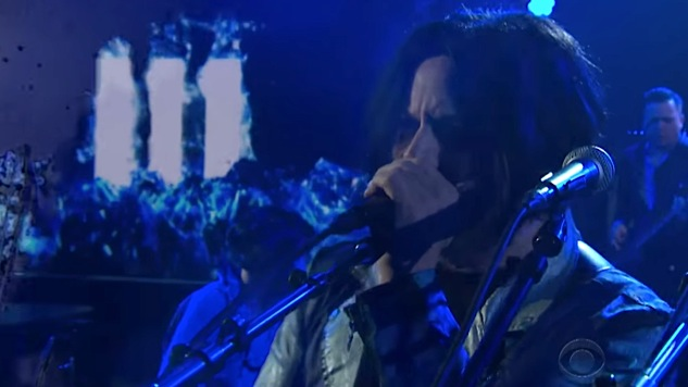 Watch Jack White Rap and Sing the Band-Aid Theme Song on Colbert