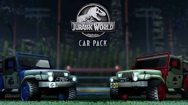<i>Rocket League</i> Is Getting a <i>Jurassic World</i>-Themed Car Pack
