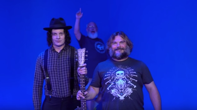 That Jack Black/Jack White collaboration is officially happening!