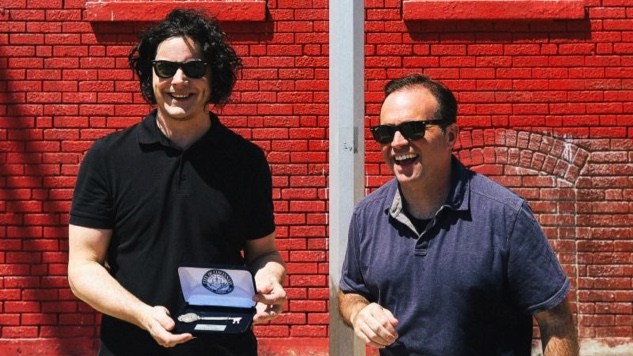 Jack White Receives Key to City of Cincinnati