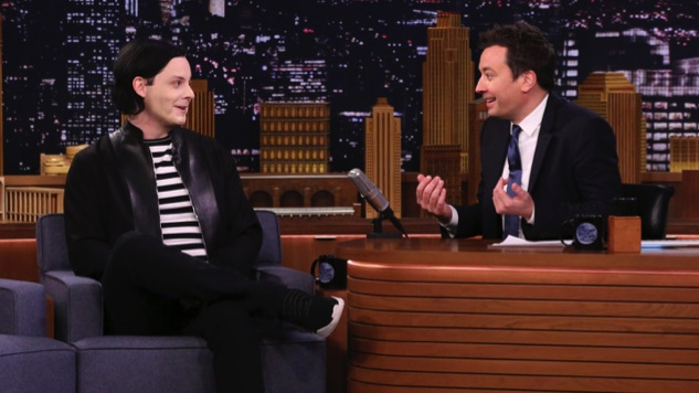 Watch Jack White and Jimmy Fallon Swap Altar Boy Stories, Break Down <i>Boarding House Reach</i>