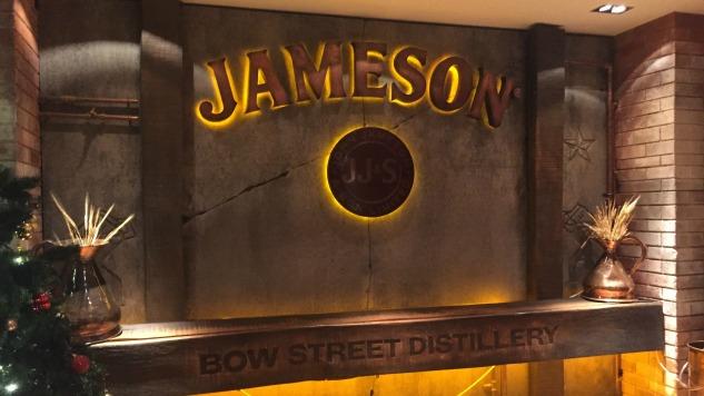 Inside Jameson's Historic Dublin Distillery