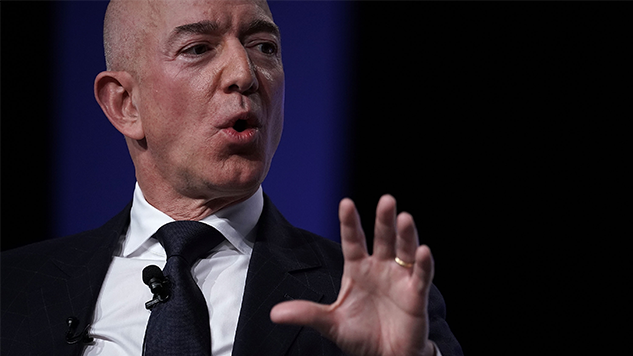 """Jeff Bezos Security Team Investigates Leak That Tanked His Marriage; Thinks Motive May Be """"Political"""""""