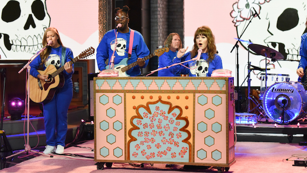 "Jenny Lewis Brings ""Wasted Youth"" to <i>The Late Show</i>"