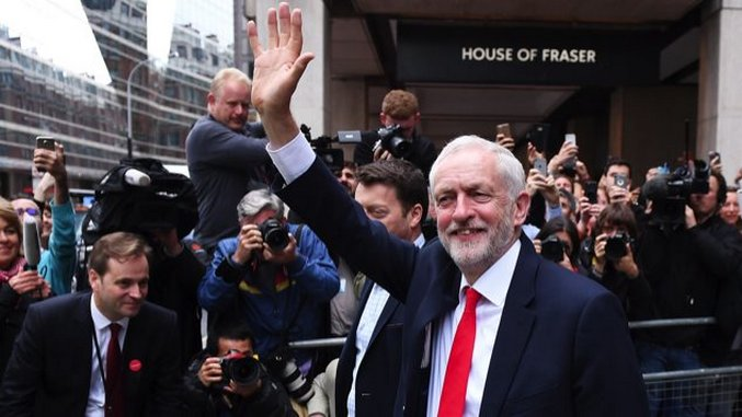 What the American Left Can Learn From Jeremy Corbyn's Big Night in the UK