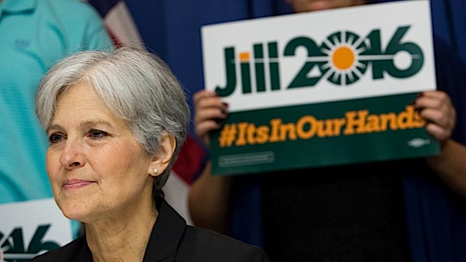 Jill Stein's Recount Efforts Have Divided the Green Party